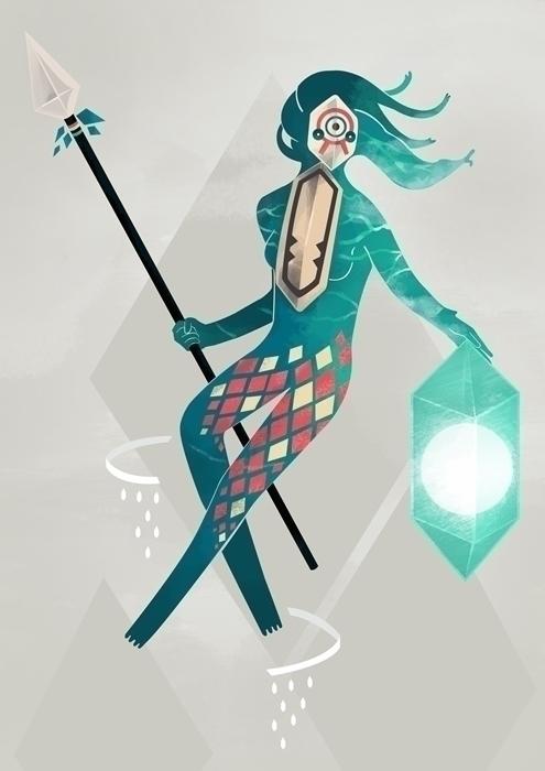 Sea Guardian - sea, guardian, creature - renonogaj | ello