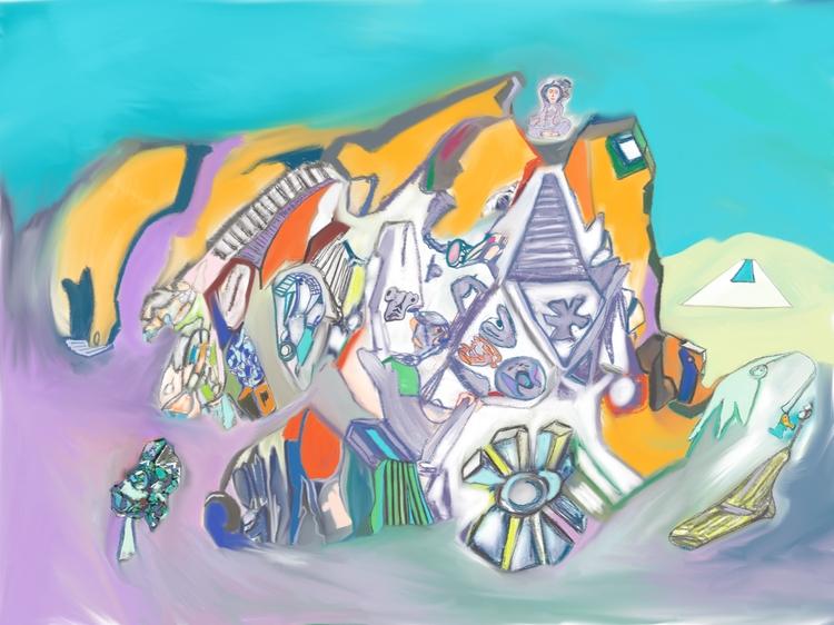 Digital Art- Fine art Luciano C - lucky007-6298 | ello