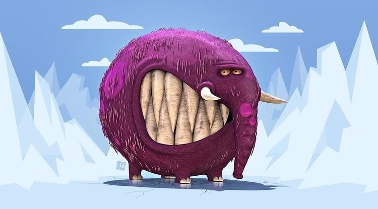 Goofy Ice Age - iceage, funny, funnycharacter - tomjestic   ello