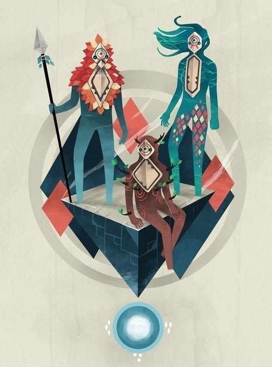 Guardians - guardians, sky, sea - renonogaj | ello