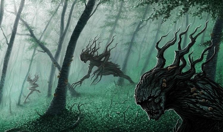 Forest Athel Loren, commonly te - stevenrogers-1302 | ello