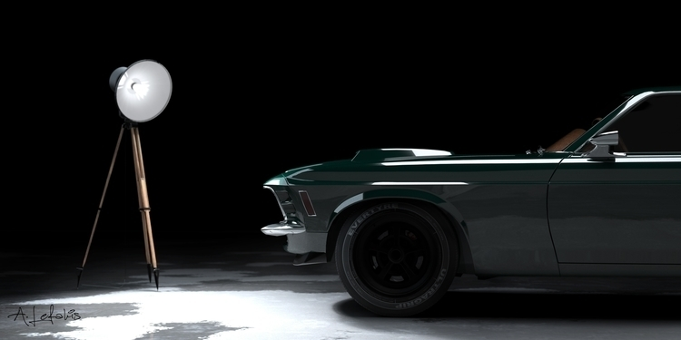 musclecar, mustang, architecture - alefas9 | ello