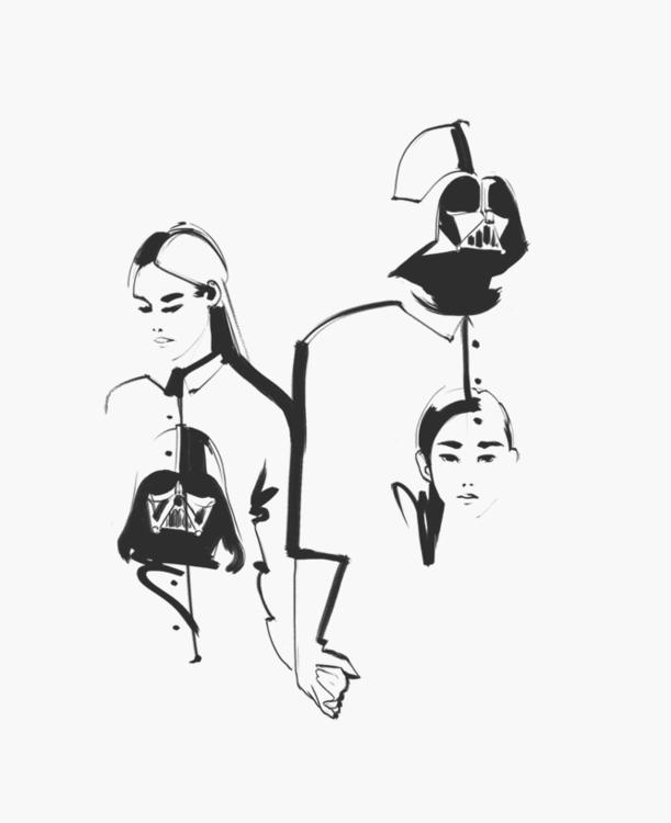 fashion, fanart, fashionillustration - murysina | ello