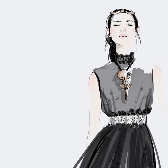 digitalart, fashion, fashionillustration - murysina | ello