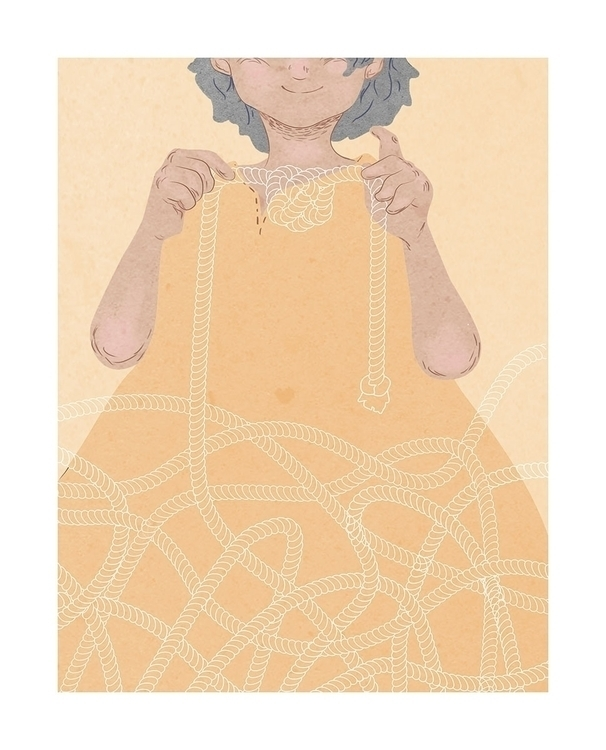 Knotted - digitalillustration - kaylae   ello