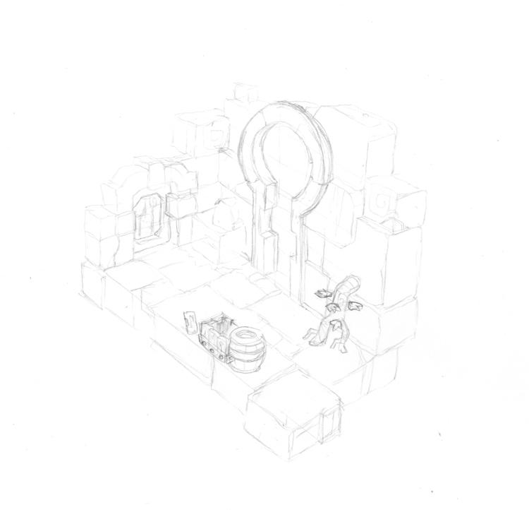 illustration, drawing, conceptart - mojo-2591 | ello