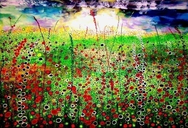 painting, , landscape, expressionism - ansduin | ello