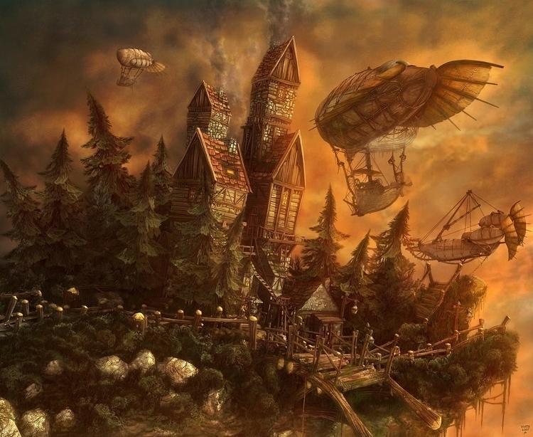 environment, 3d - obonev | ello