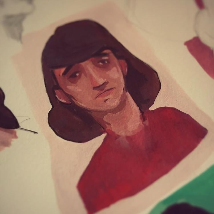 Gouache - 04, gouache, painting - jordan_buckner   ello