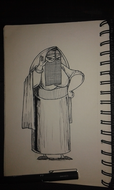 illustration, characterdesign - ibrahemghareeb | ello