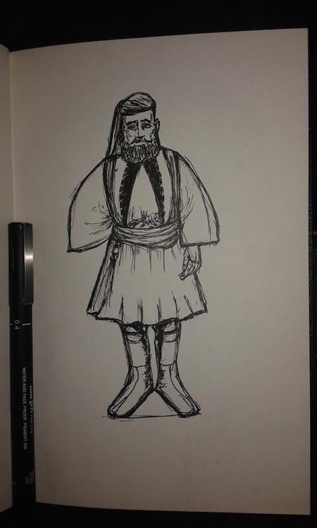 conceptart, drawing, design, characterdesign - ibrahemghareeb | ello