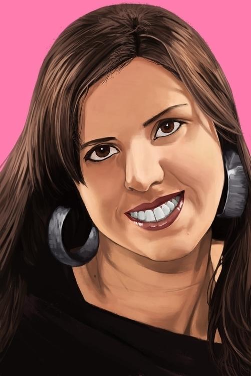 Carol - illustration, painting, digitalart - juserra | ello