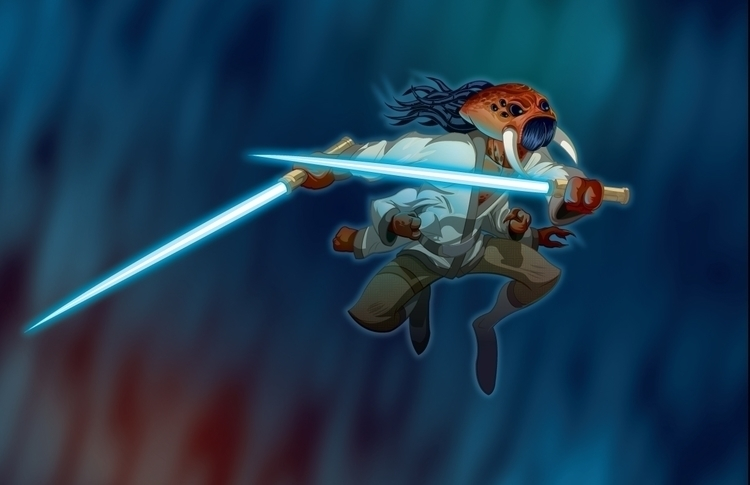Jedi Master Araneae Created Ado - universek-1349 | ello