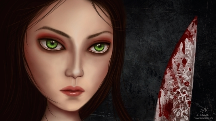 Alice Madness Returns - illustration - edaherz | ello