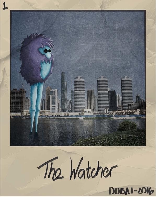 1. Watcher - illustration, characterdesign - mp-1845   ello