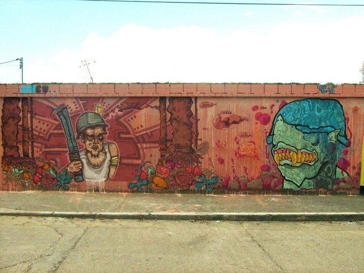 Guardianes con ANCU - painting, characterdesign - kamanyacosta | ello