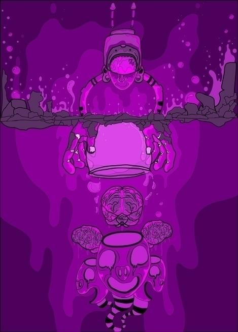 Sembrando semillas - illustration - kamanyacosta | ello