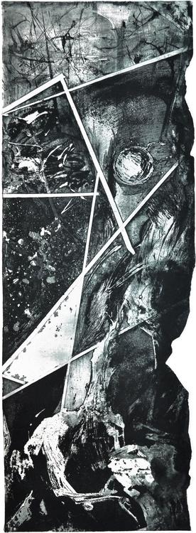 Subconscious - etching, aquatint - voyanik | ello