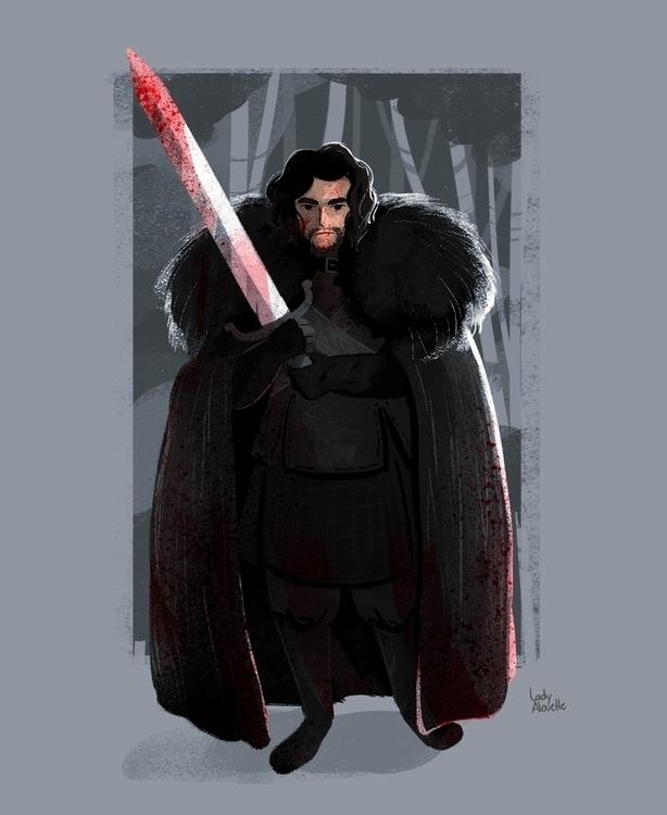 Jon Snow - jonsnow, gameofthrones - ladyalouette | ello