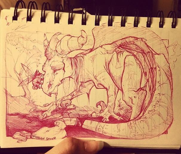 Dragon Shiba-inu Fairies - dragon - barkpointstudio | ello