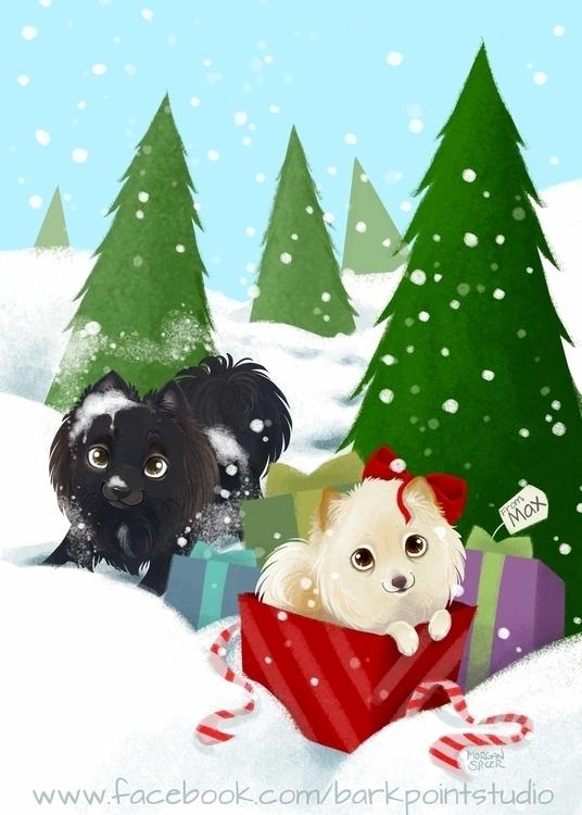 Spread Benjamin Book - christmas - barkpointstudio | ello
