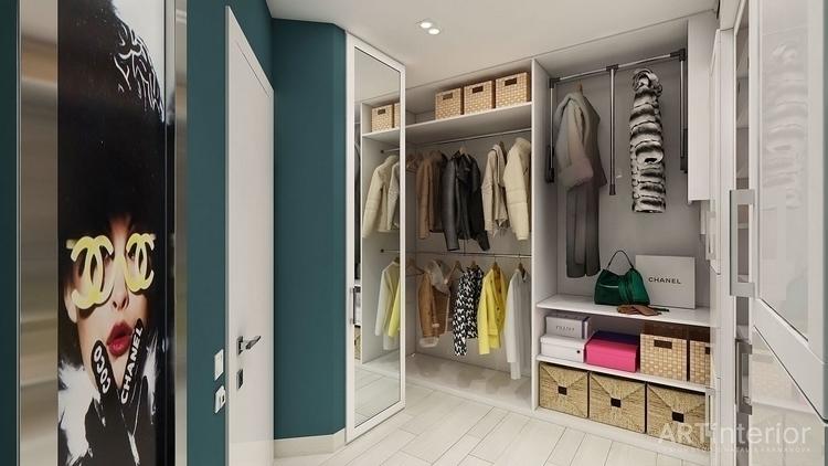 wardrobe, wardrobedesign - artinterior | ello