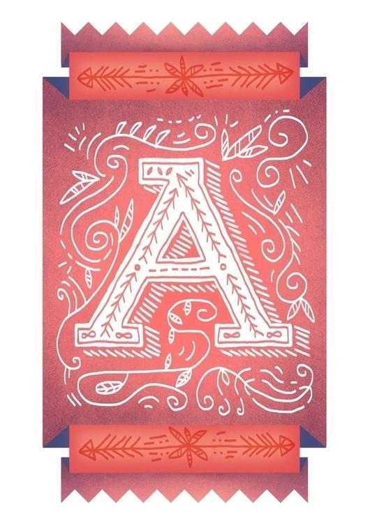 handlettering, lettering, illustratedtype - lynhuiong   ello