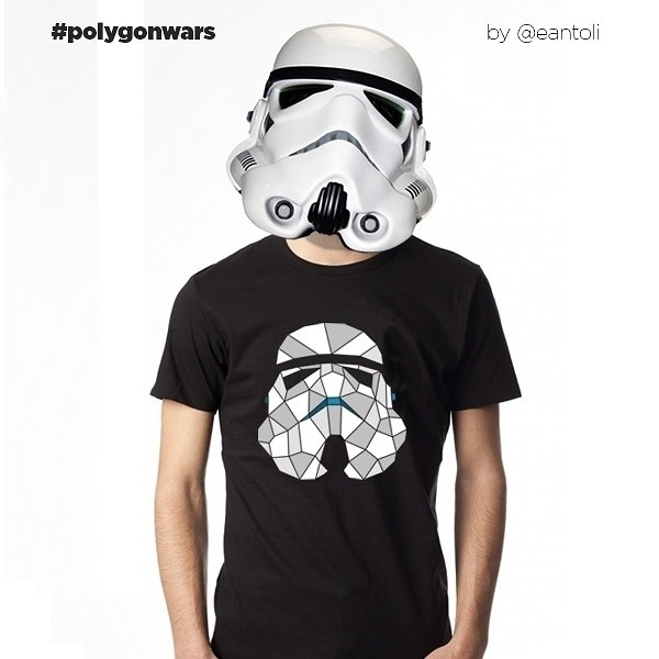 Storm Trooper - illustration, starwars - eantoli | ello