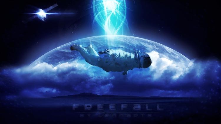 Freefall! - digital photomanipu - lennarts-1164 | ello
