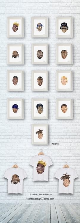 Hip Hop Pics - hiphop, rap, illustration - eantoli   ello
