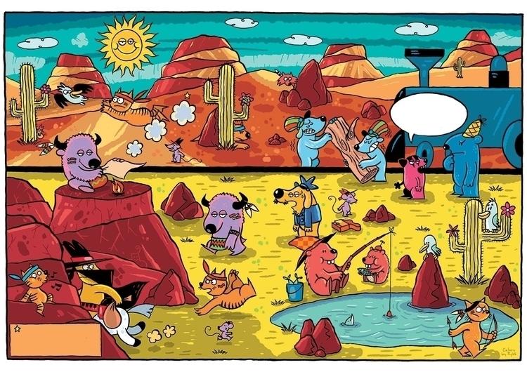 excerpts childrens comic book  - piotrnowacki | ello