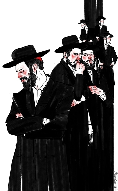Kashrut - illustration, graphic - miroedova | ello