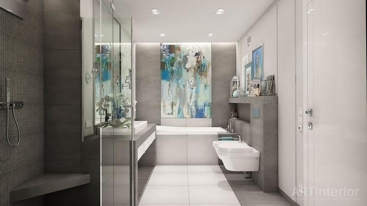 Interior Design - Kiev - bathroom - artinterior | ello