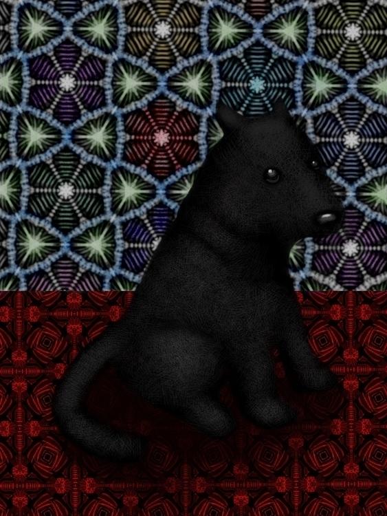 Black dog - gabrielpalacios-9761 | ello