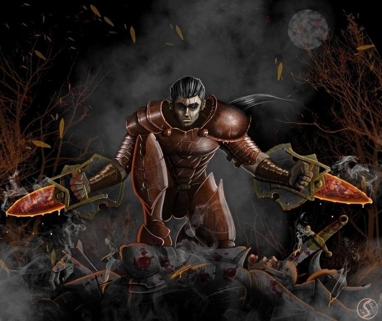 Crimson Dagger Forgotten Myths - wacko_shirow | ello