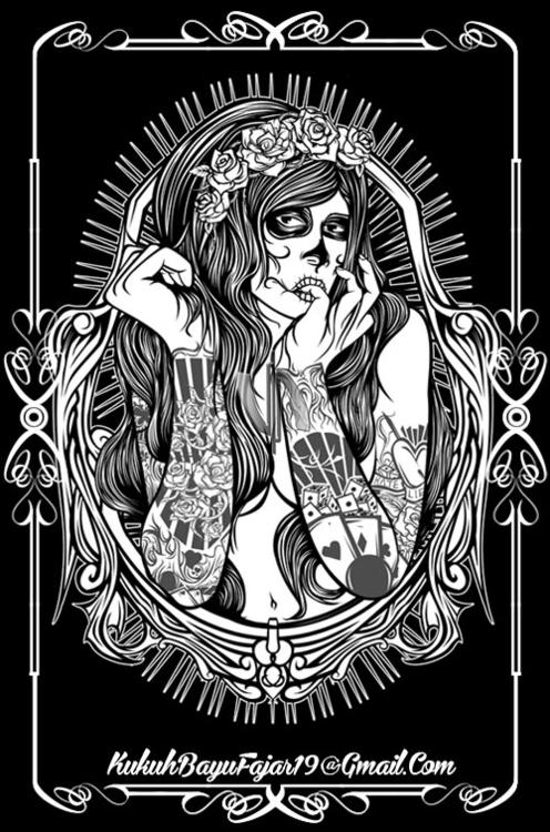 El Muerte - elmuerte, muerte, ladymuerte - vhayu19 | ello