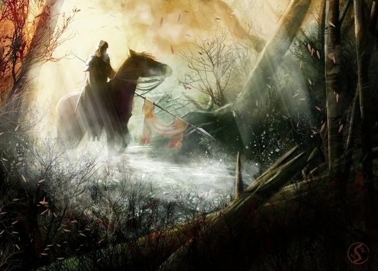Forest Horseman Forgotten Myths - wacko_shirow | ello