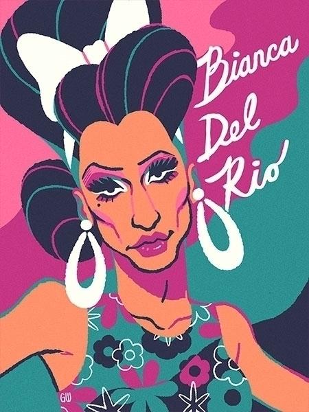 Bianca Del Rio - BiancaDelRio, portrait - gregwright | ello