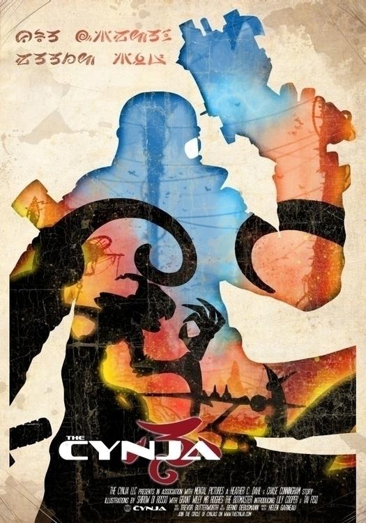 Poster Cynsei Cynja - wacko_shirow | ello