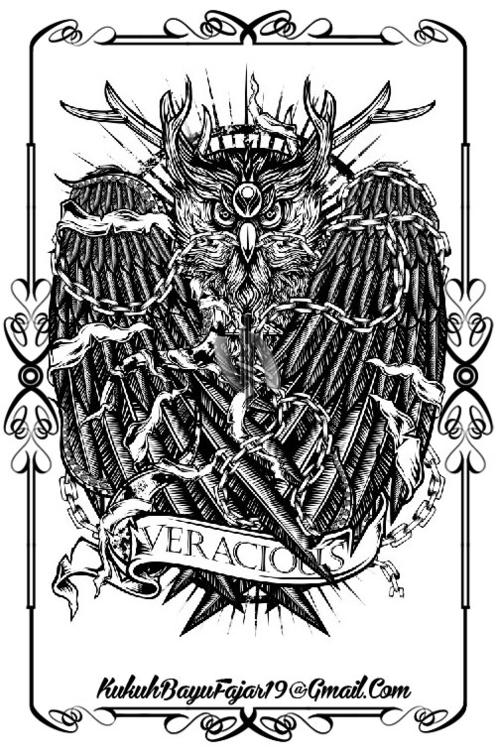 Mighty Owl - owl, bird, chain, veracious - vhayu19   ello