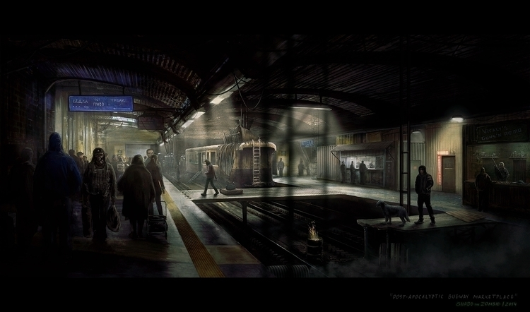 place encounter Metro 2033 Fall - shadothezombie | ello