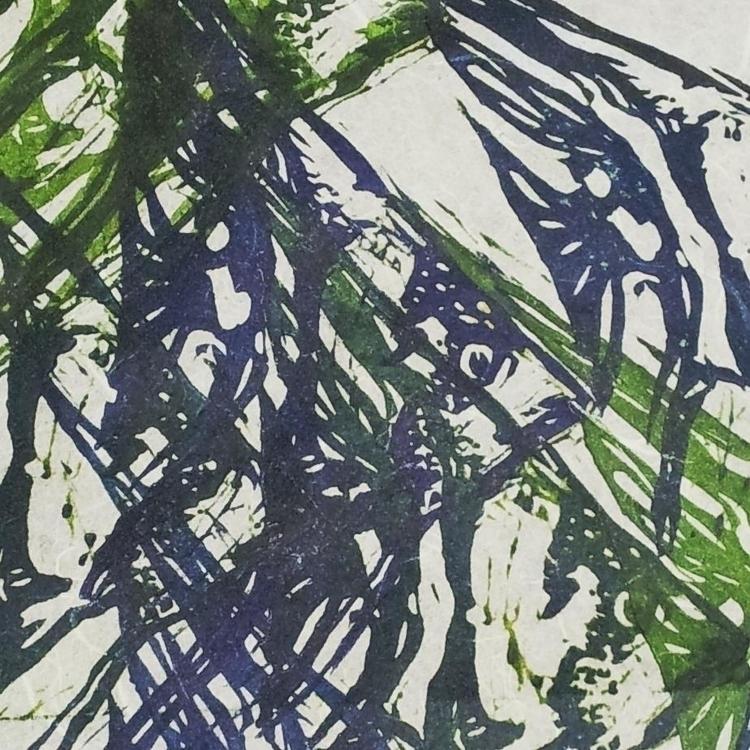 Fish Print - print, linoleumprint - camilla-2048 | ello