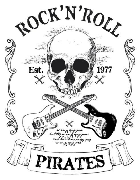 design - pirates, rock - revo-1513 | ello