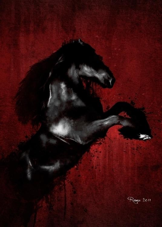 Horse - romaartwork | ello