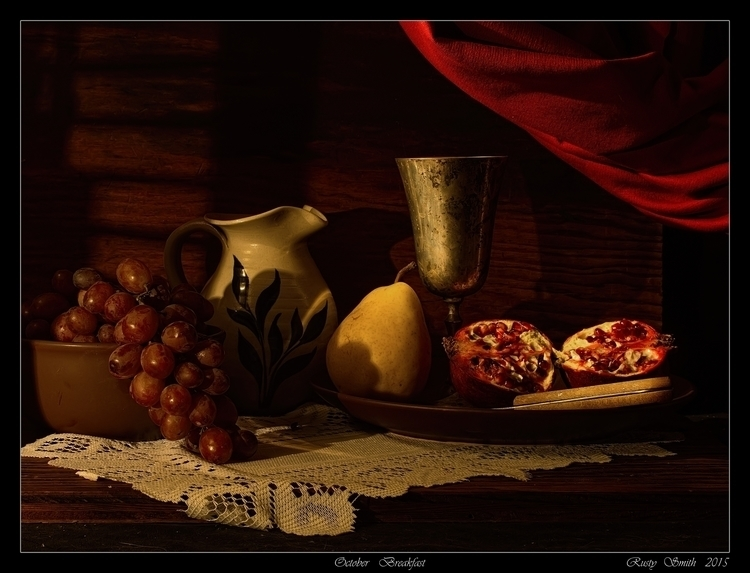 October Breakfast: Fruit early  - rsmithdigital | ello