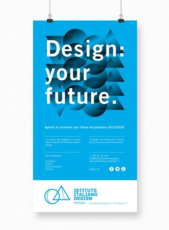 Poster IID Design: future - graphicdesign - maestroambrosiano | ello