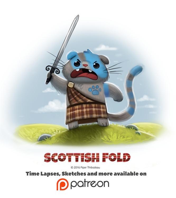 Day 1394. Scottish Fold - piperthibodeau | ello