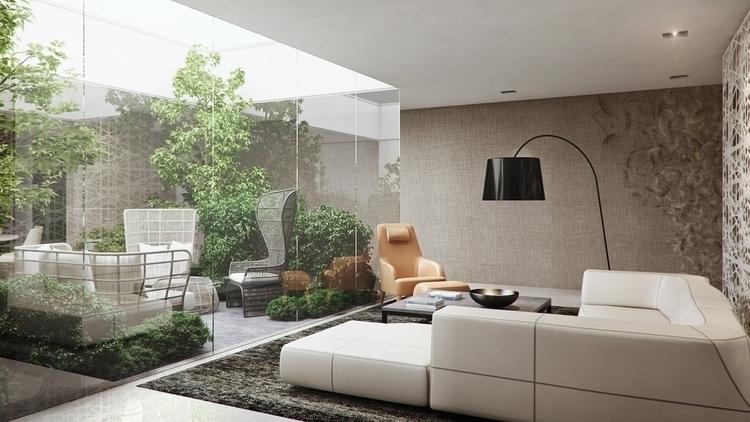 3d visual Living Area - 3dvisual - mibs-6830 | ello