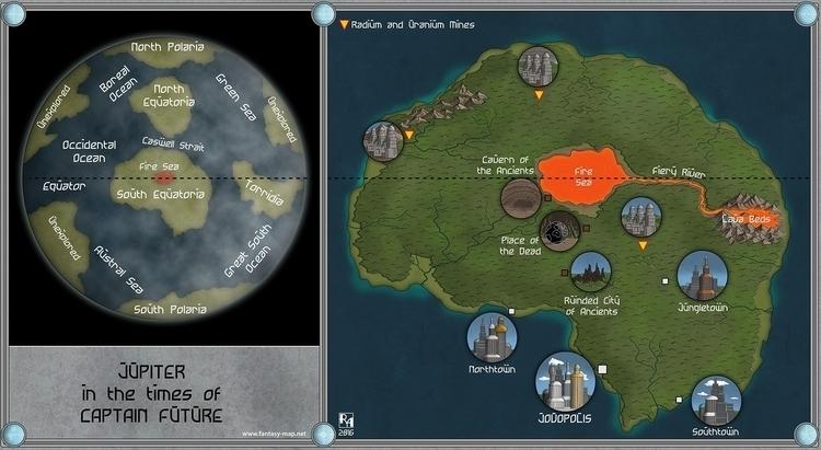 Captain Jupiter started map tim - robertaltbauer | ello
