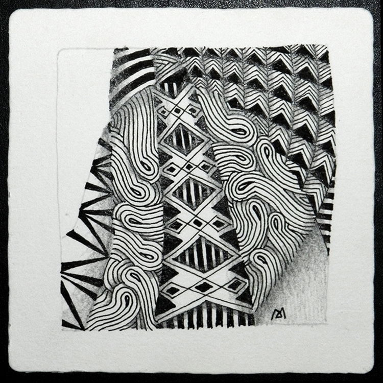 drawing, zentangle - marysargeant | ello